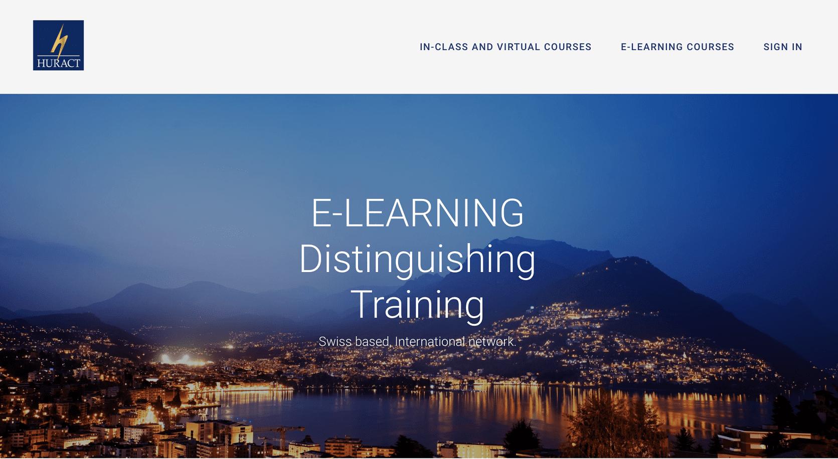 HURACT Distinguishing Training