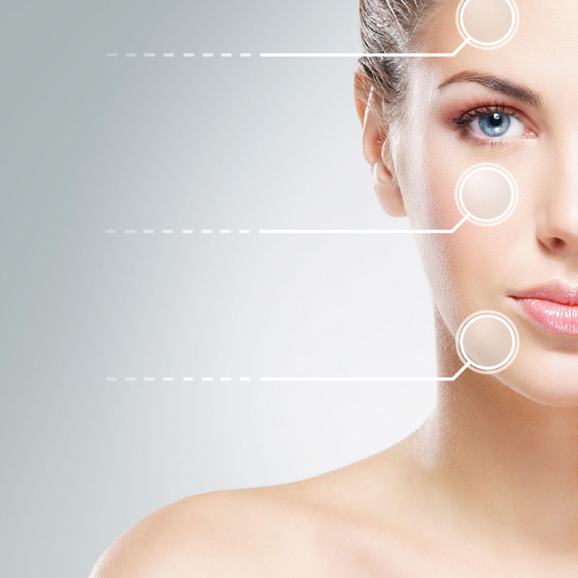Trattamento pelle impura o acneica