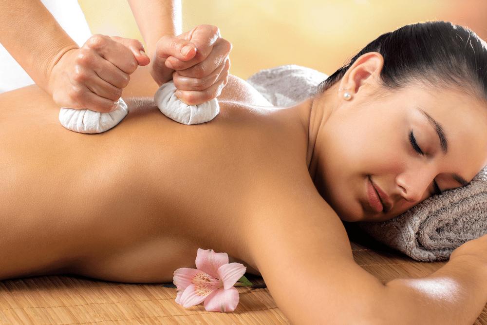 Massaggio - Pinda Sweda -Tamponi caldi  '80 min.