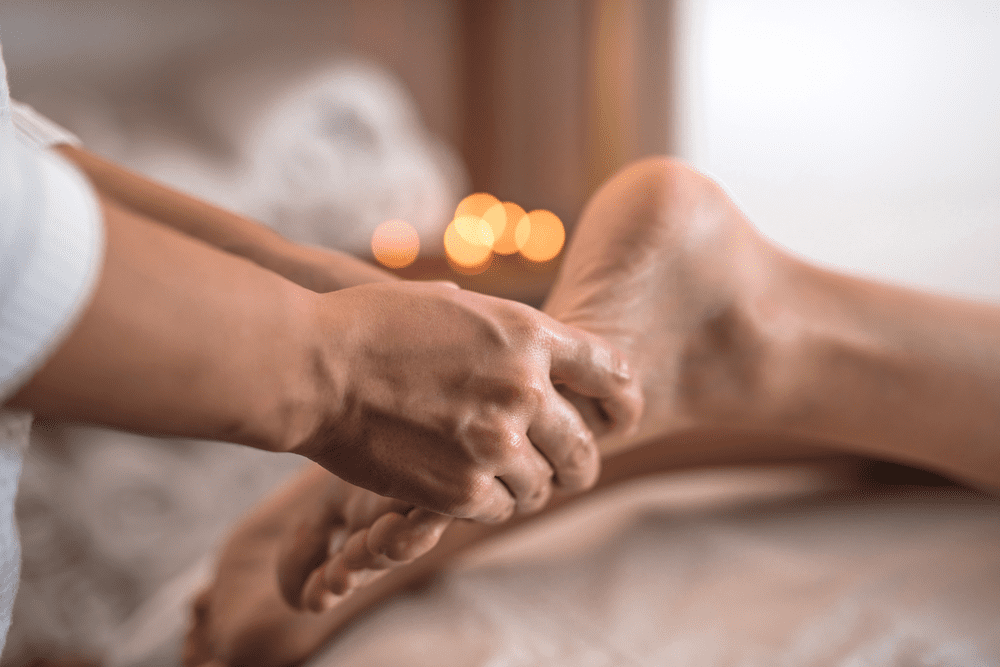 Massaggio plantare Ayurvedico 30'