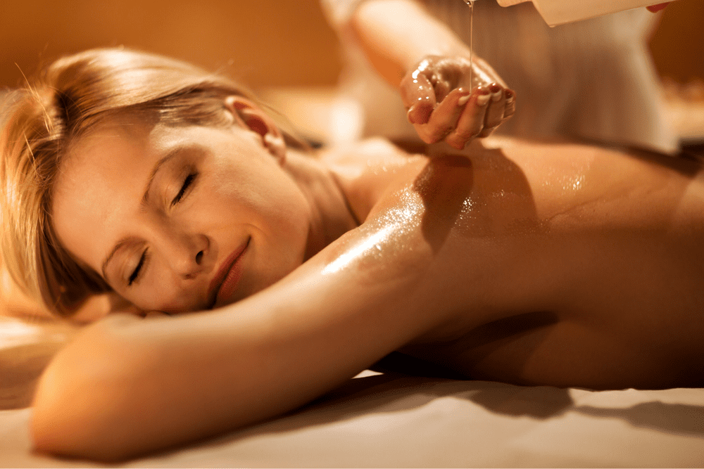Alpine massage with essential oils of the area '80 min.