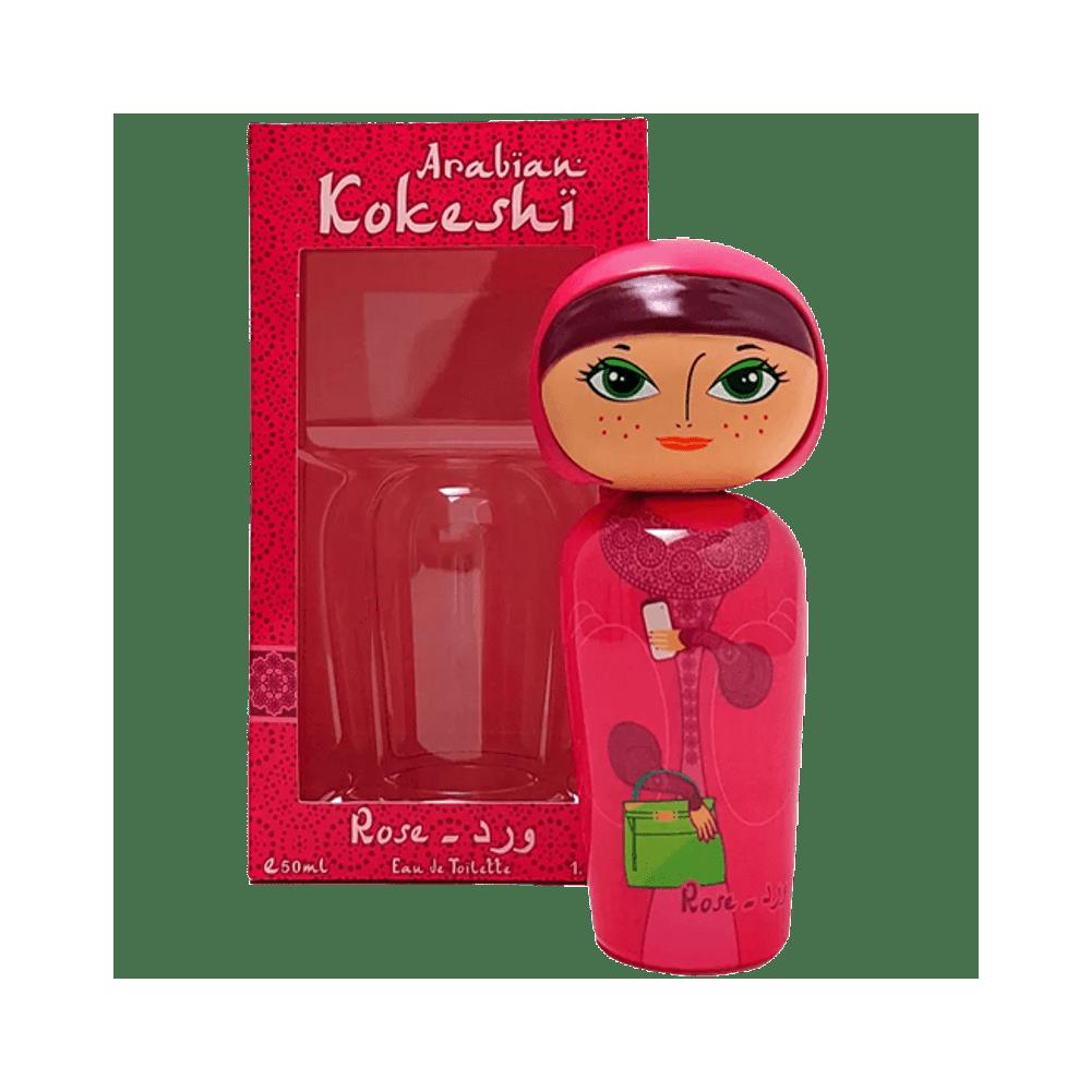 Arabian Kokeshi Rose