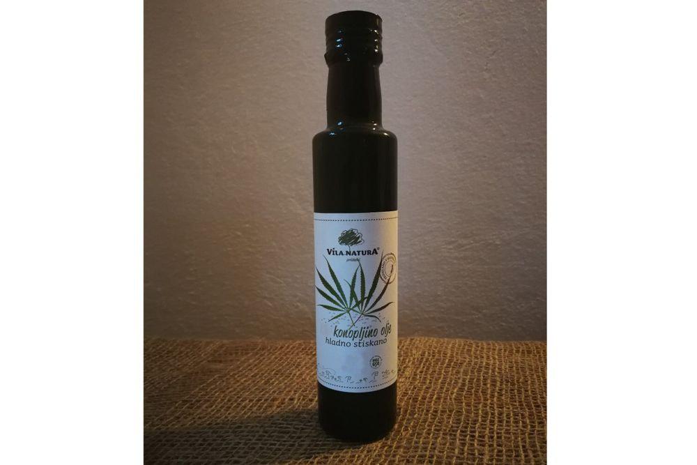 VN Konopljino olje - hladno stiskano 250 ml