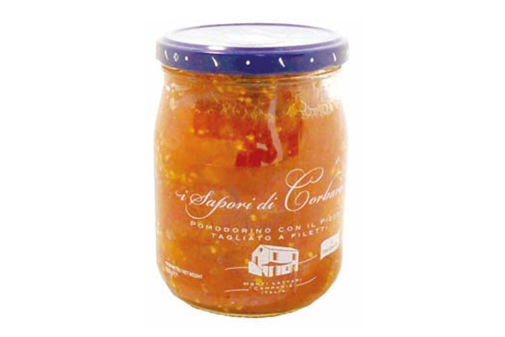 GMA - TOMATOES WITH PIZZO ROSSI  A FILETTI  SAP CORBARA 580 ML