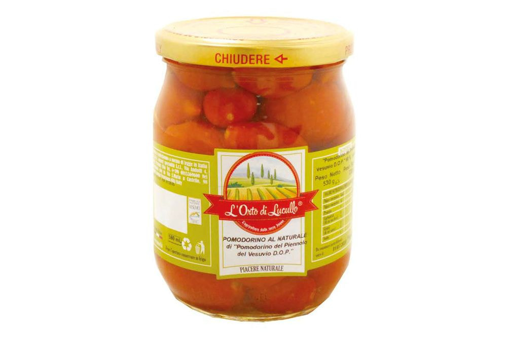 GMA - NATURAL PIENNOLO TOMATO IN WATER AND SALT ORT. LUCULLO DOP 580 ML