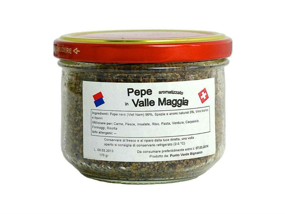 PEPPER  FROM VALLE MAGGIA 170g
