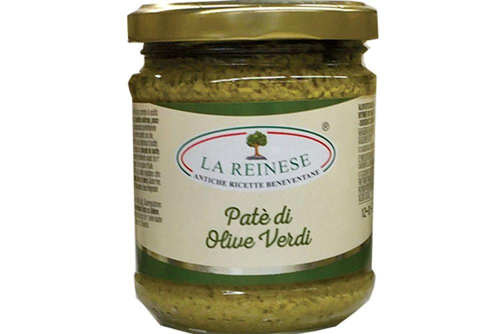 REINESE - PATE' DI OLIVE VERDI 180g