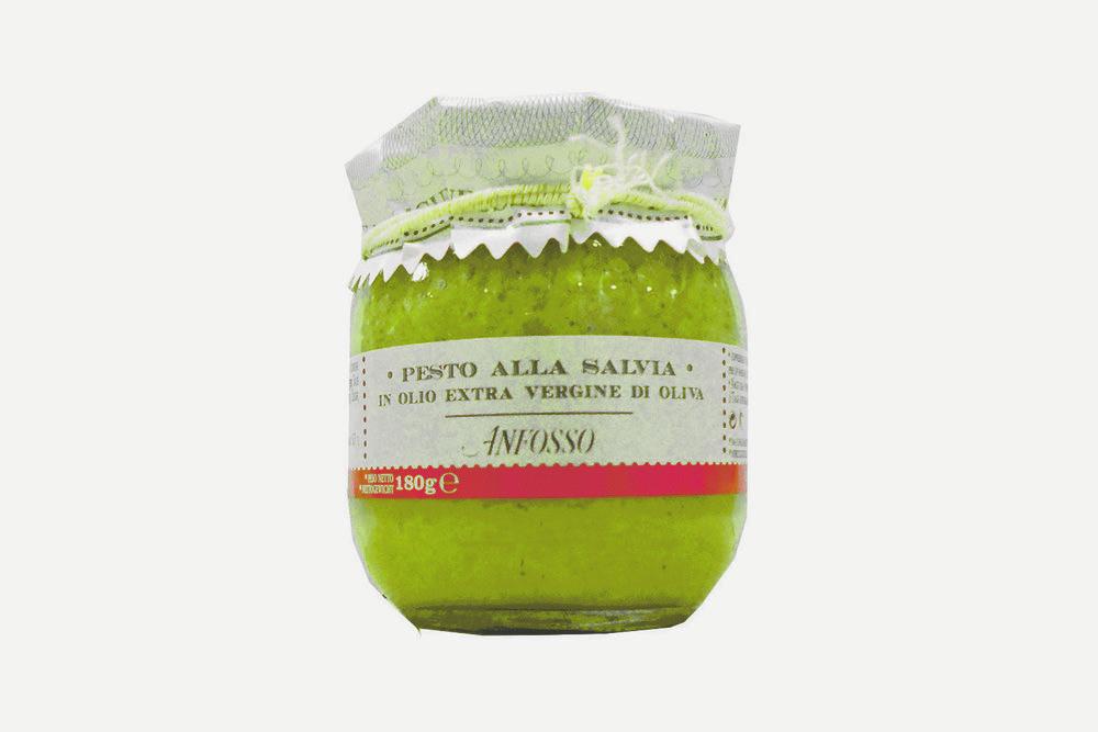 ANFOSSO - PESTO ALLA SALVIA IN OLIO OLIVA - 180g