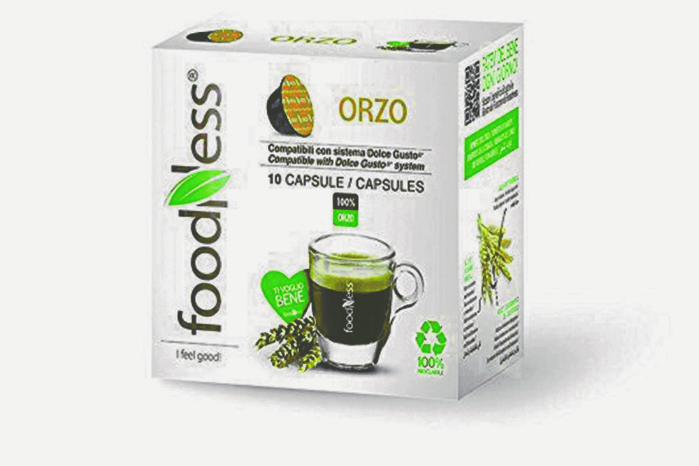 FOODNESS Orzo Biologico in capsule (Dolce Gusto) - 50pz