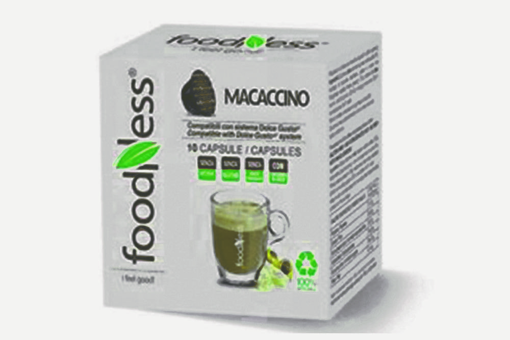 FOODNESS Macaccino in capsule (Dolce Gusto) 50pz