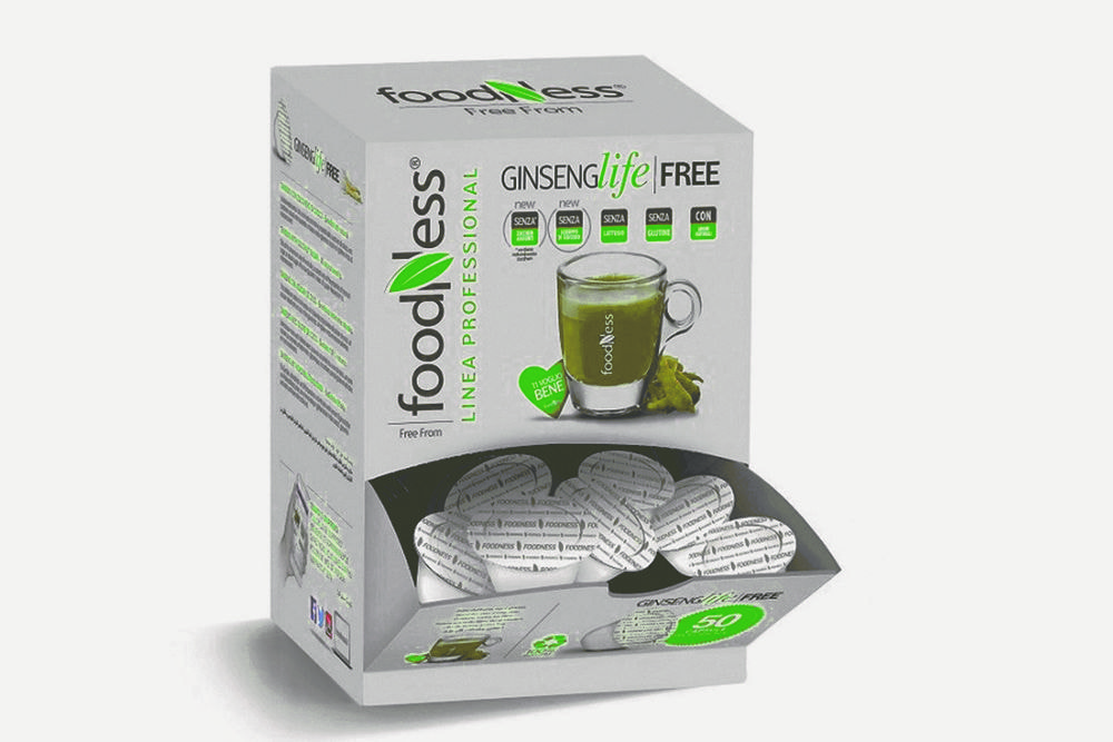 FOODNESS Caffé Ginseng Life free in capsule (Dolce Gusto) 50pz
