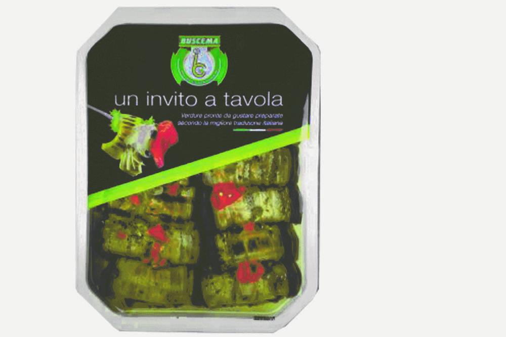 BUSCEMA - INVOLTINI DI MELANZANA RIPIENI - 1,0 KG