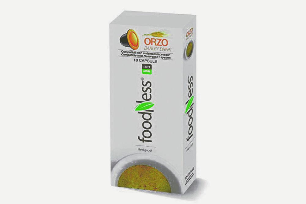 FOODNESS Caffé Orzo compatibile Nespresso - 10 capsule