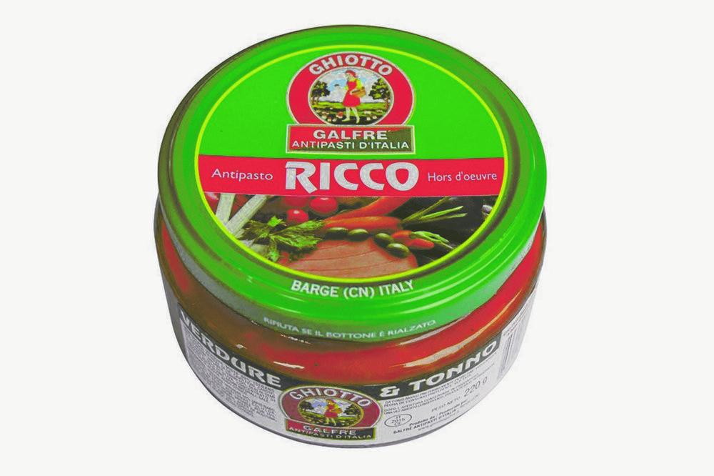 GALFRE' - RICCO VERDURE CON TONNO 220g