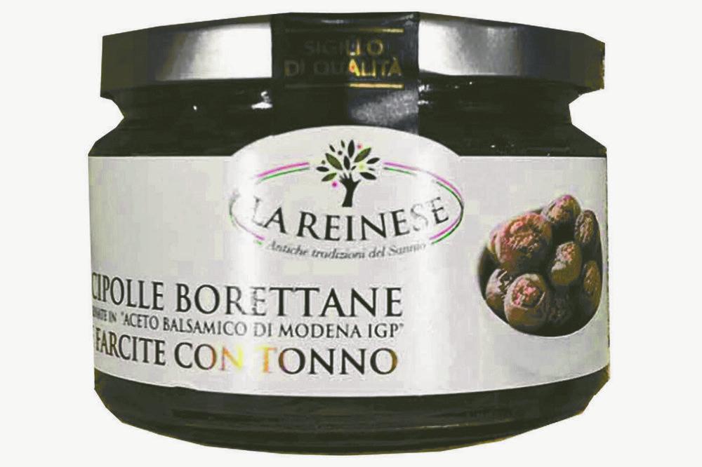 REINESE - CIPOLLE BORETTANE AL TONNO E PASTA DI OLIVE - 240g