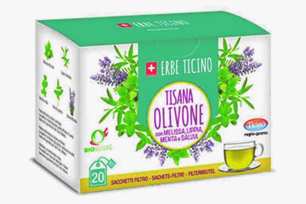 TISANA OLIVONE BIO - 20 FILTRI 1,2g