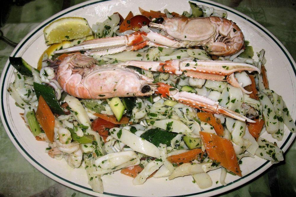 129 - Insalata Calamari e Scampi