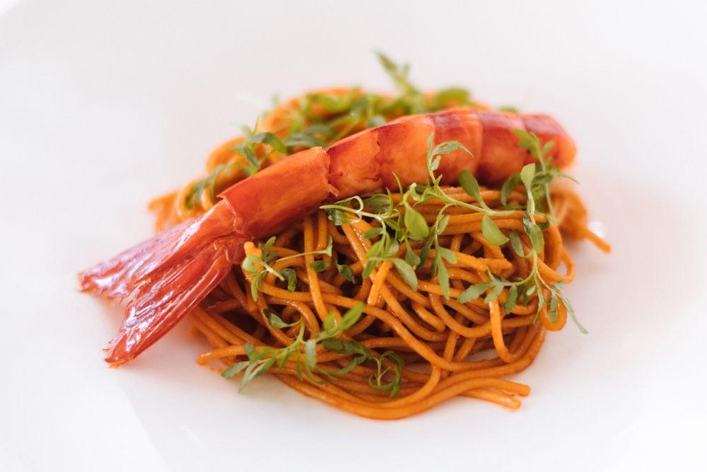 159 - Spaghetti Aglio, Olio e Scampi