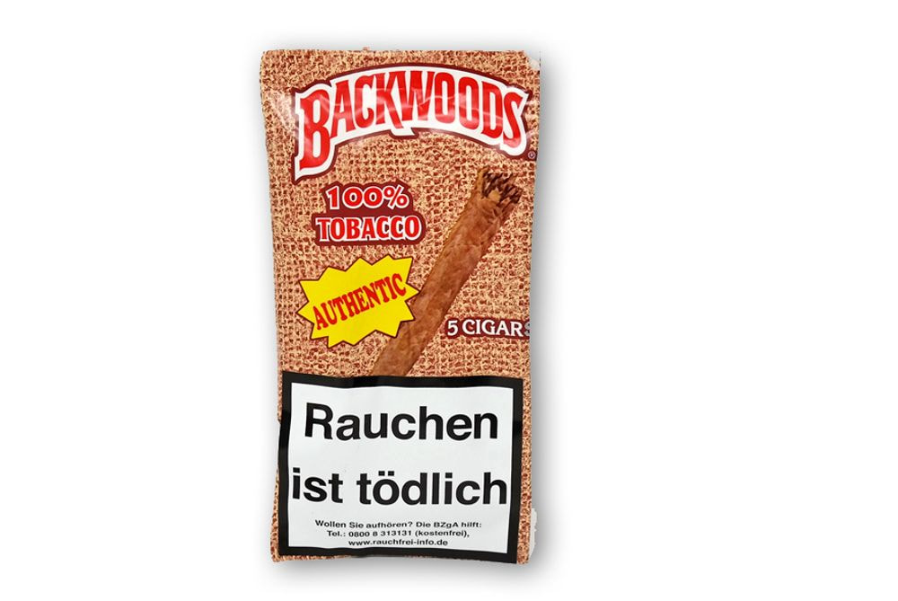Backwoods 100% Tobacco