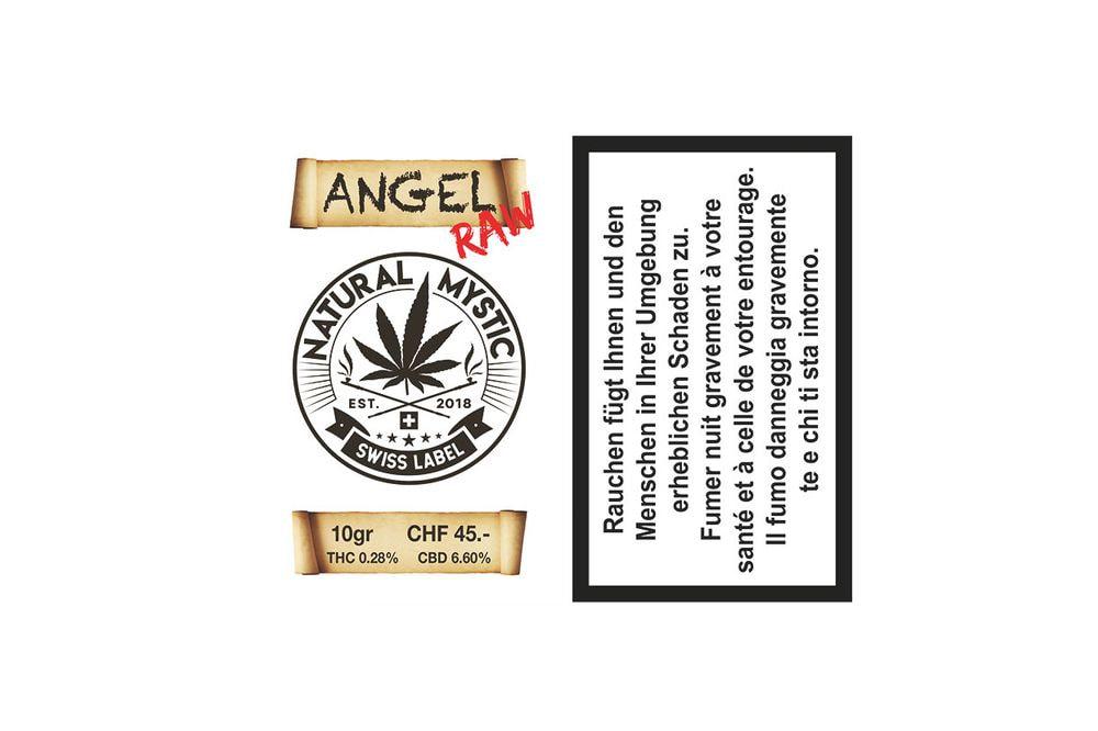 ANGEL RAW Premium CBD 10g
