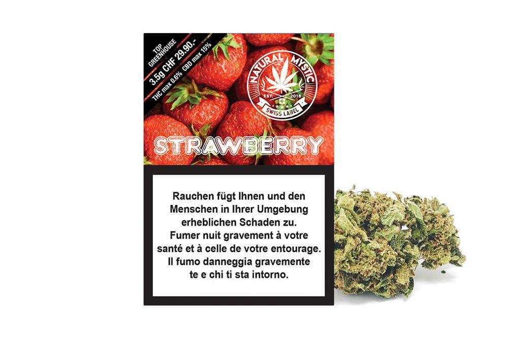 Strawberry Premium CBD 3.5g