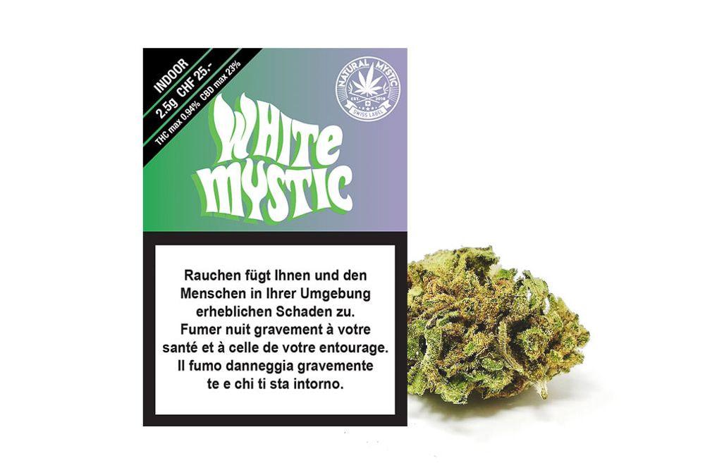 White Mystic Premium CBD 2.5g
