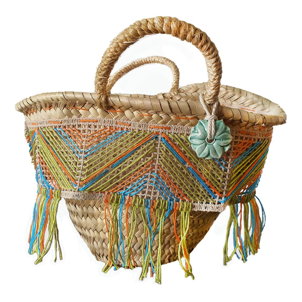 Straw bag small