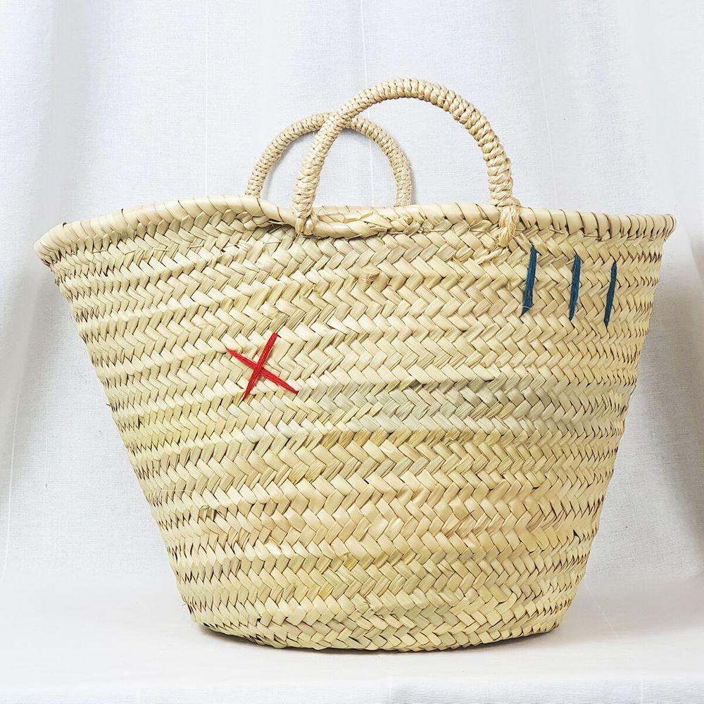 Straw bag, medium size