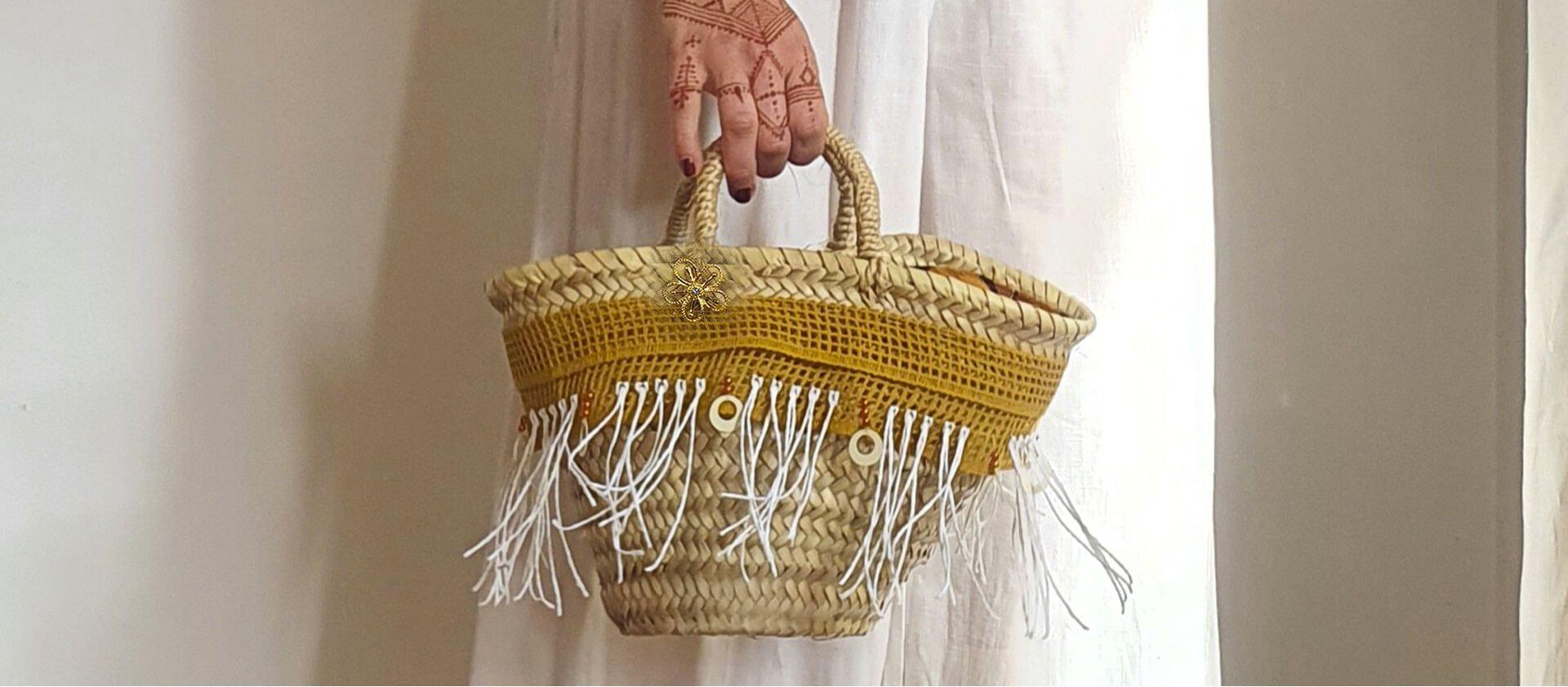 Straw bag small