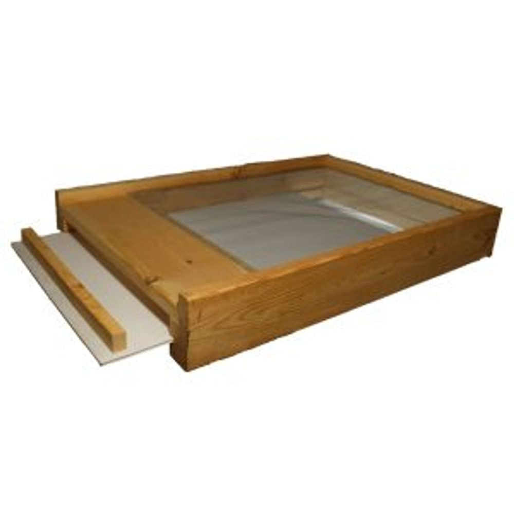 Bottom Board, Screened with Front Tray