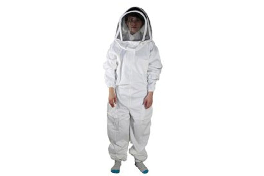 BeeSuit Coverall, fencing hood, XL
