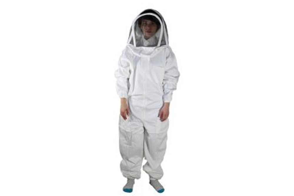 BeeSuit Coverall, fencing hood, M