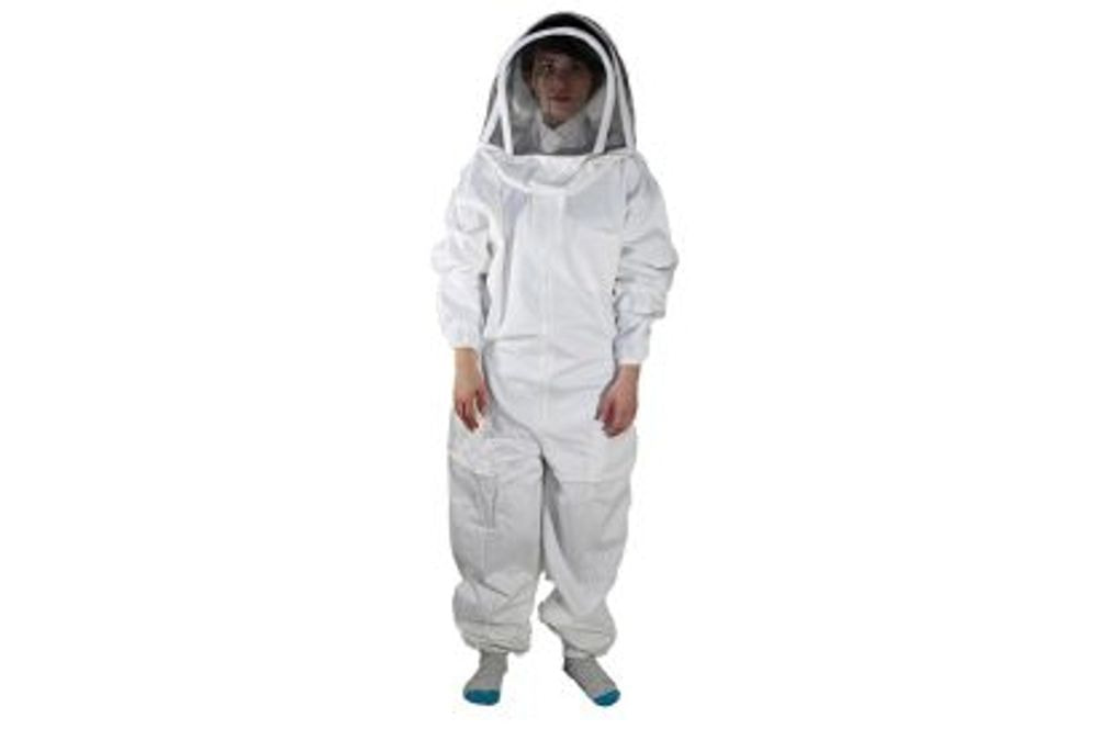 BeeSuit Coverall, fencing hood, XS
