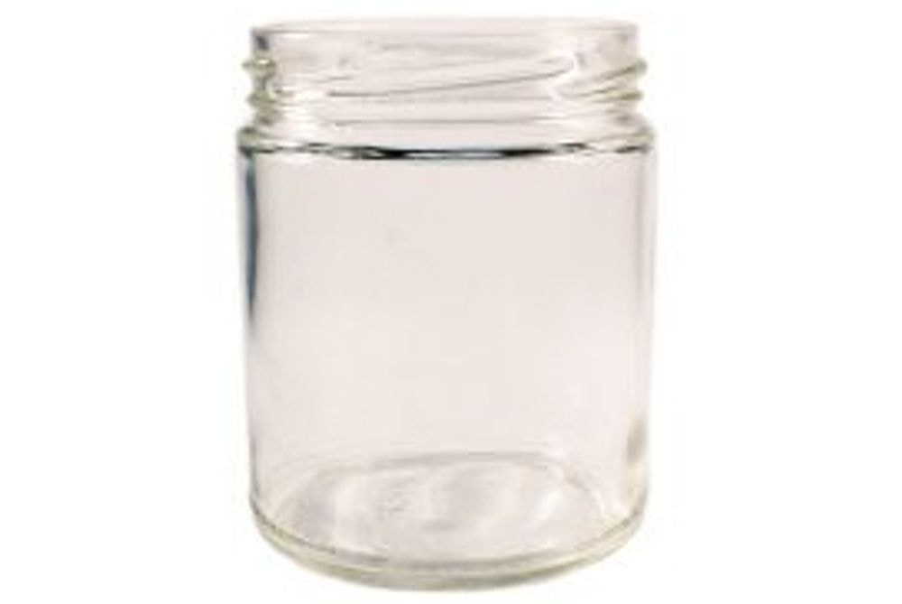 Glass Jars with lid 250ml, per case of 12