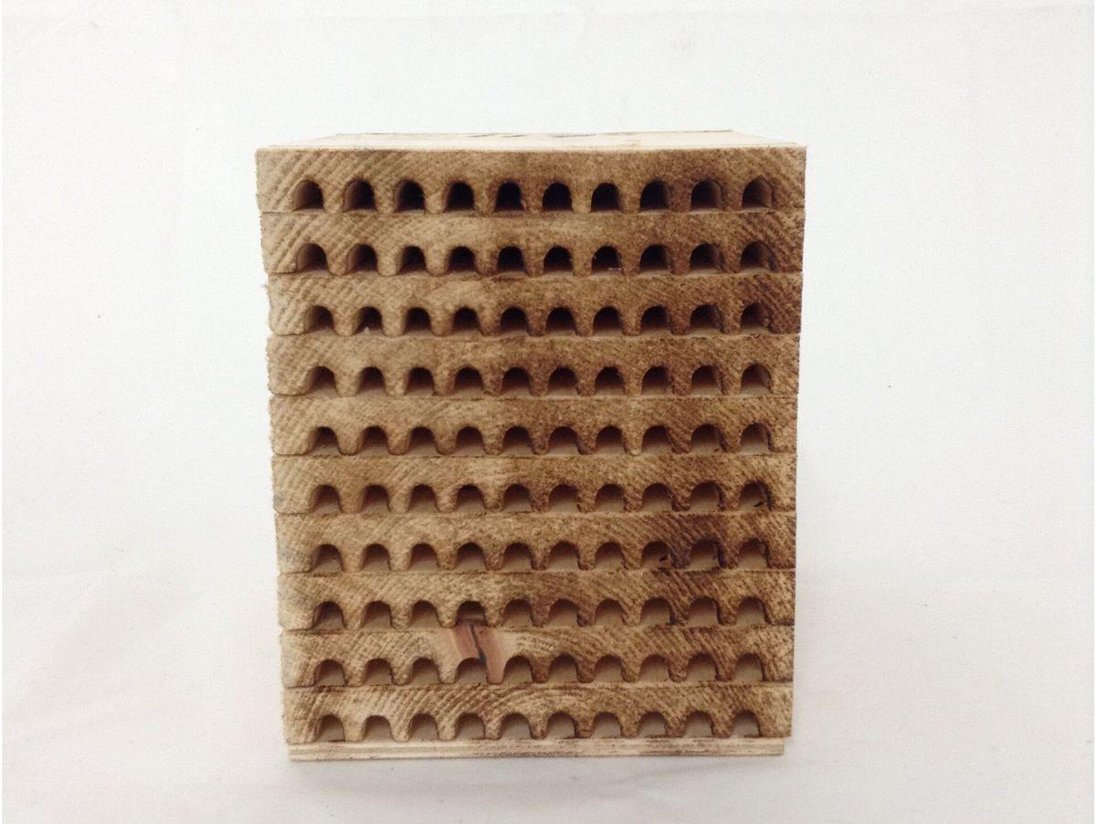 Mason Bee Condo - 100 hole, 10 tray