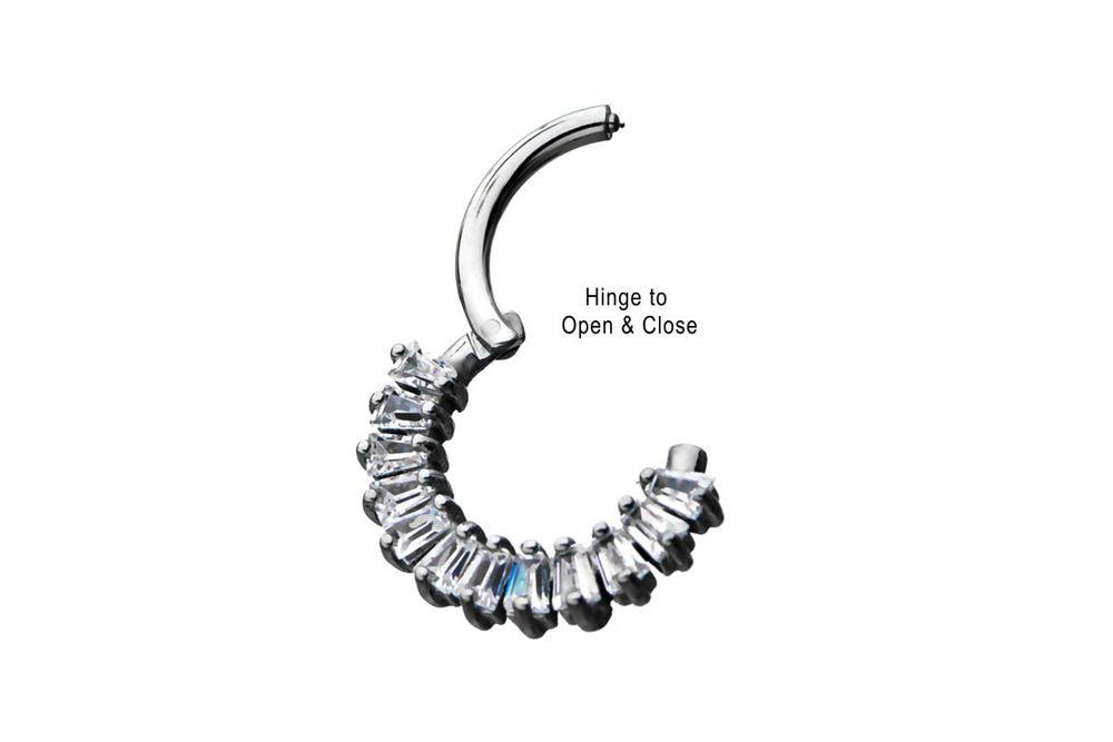 Clicker Ring - Minerva Steel