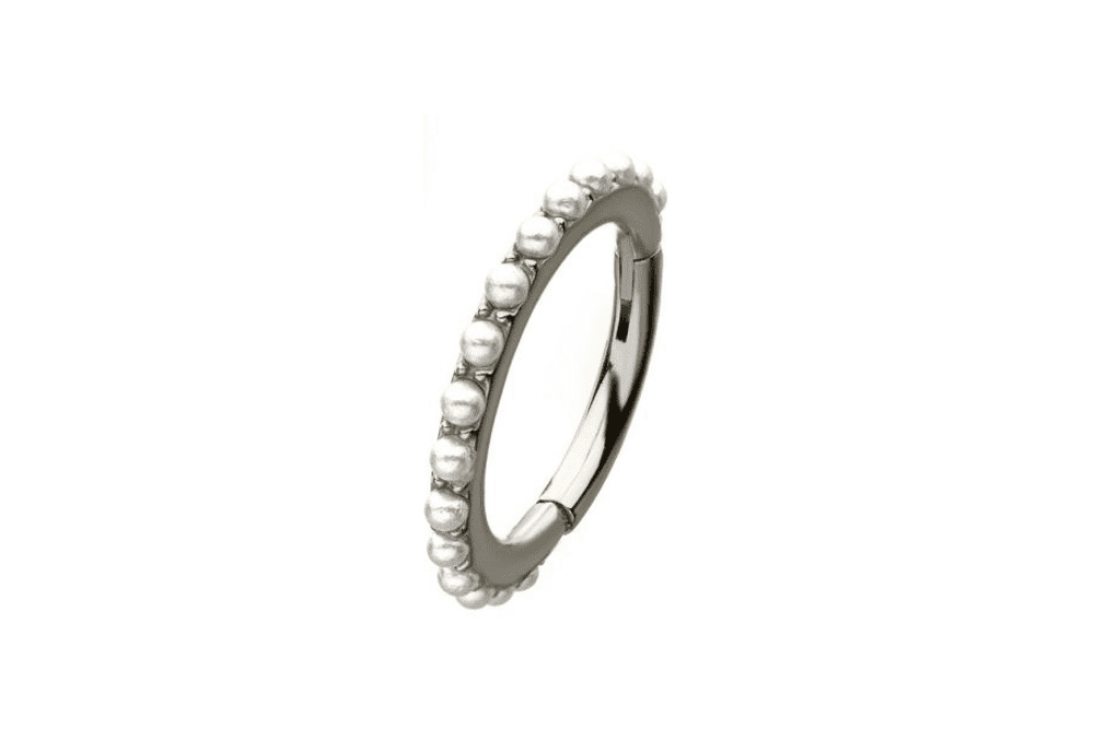 Clicker Ring - Antiope Steel