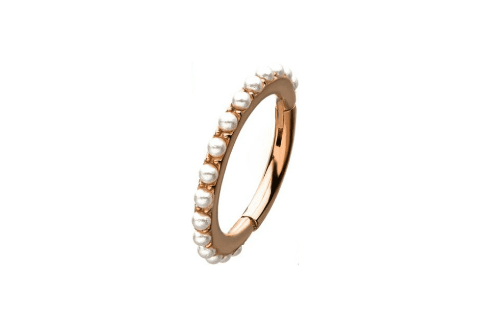 Clicker Ring - Antiope Rose Gold
