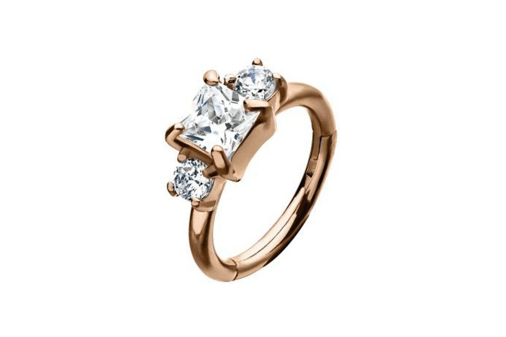 Clicker Ring - Amalthea Rose Gold