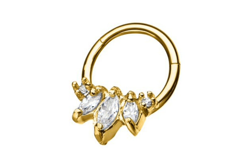 Clicker Ring - Calypso Gold Plated