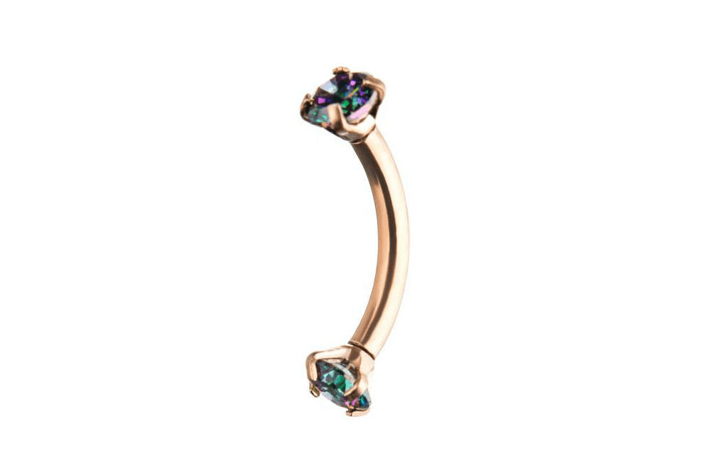Curves Piercing - Metis Rose Gold