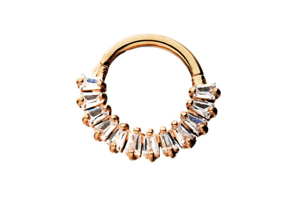 Clicker Ring - Minerva Rose Gold Plated