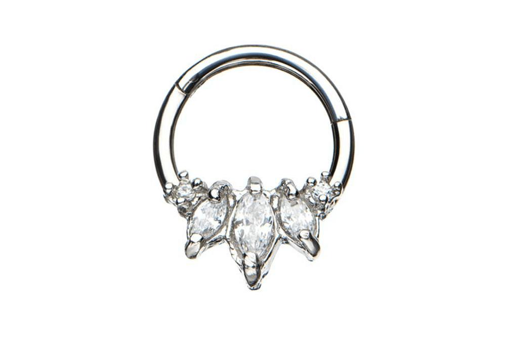 Clicker Ring - Calypso Steel