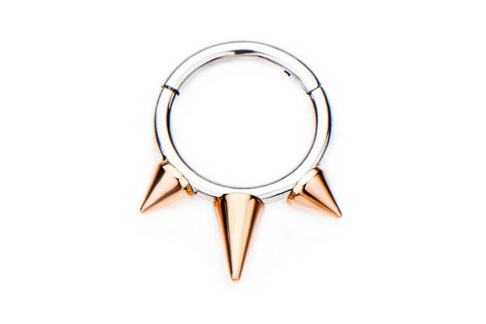 Clicker Ring - Tempesta Rose Gold Plated