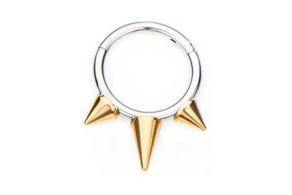 Clicker Ring - Tempesta Gold Plated