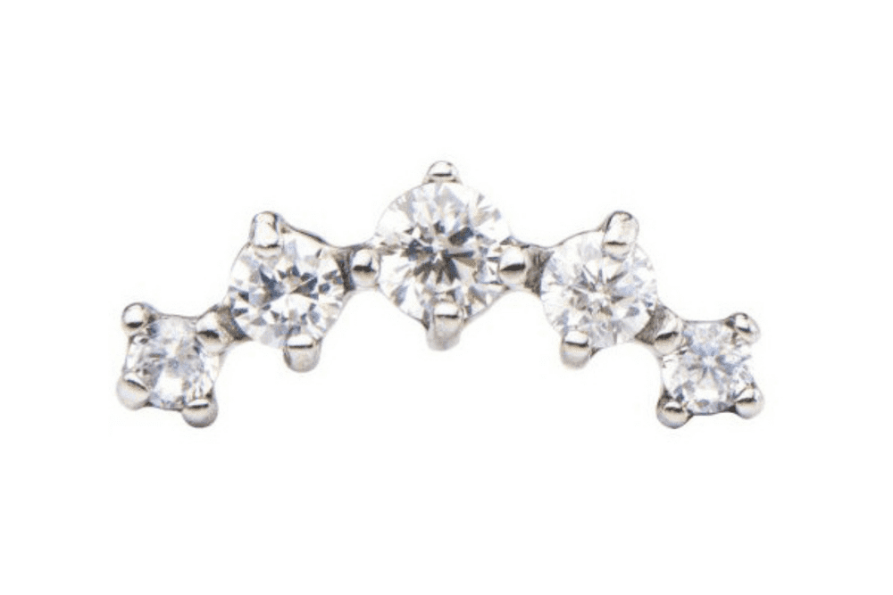 Piercing Orecchio Cartilagine | Helix • Conch | Barbell Piercing - Luce