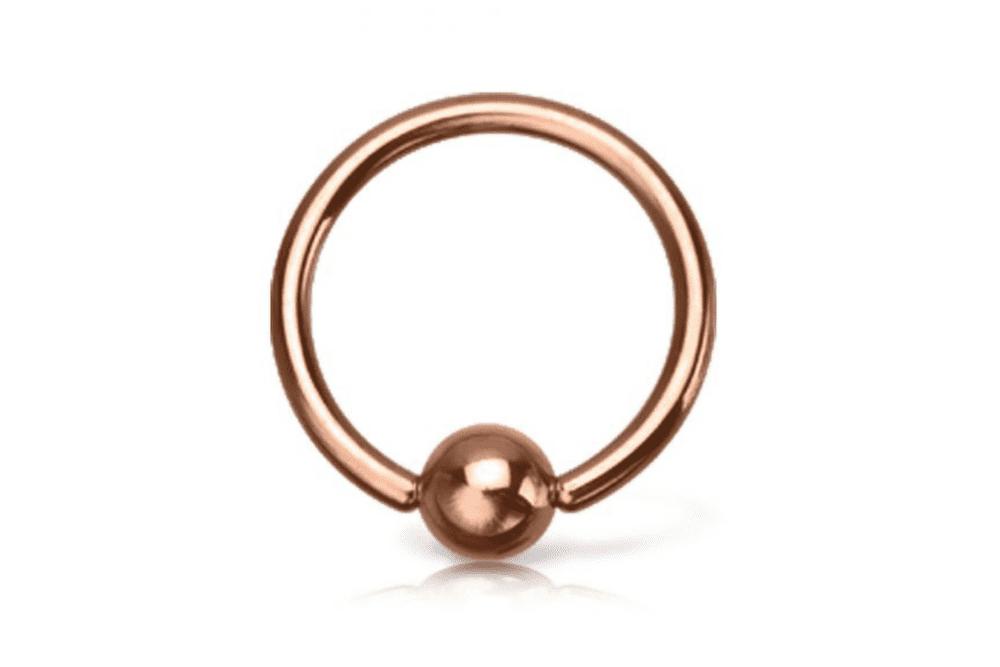 Cartilage Ring - Life Rose Gold