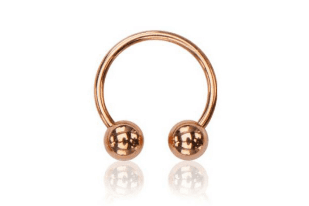 Cartilage Ring - Estia Rose Gold