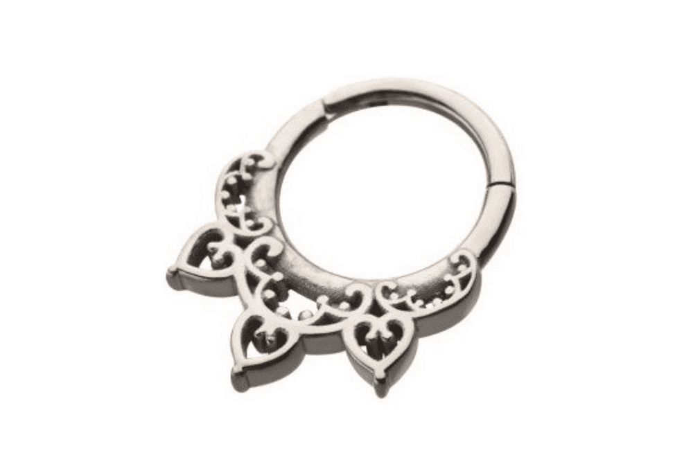 Septum Clicker Ring - Indiana Steel