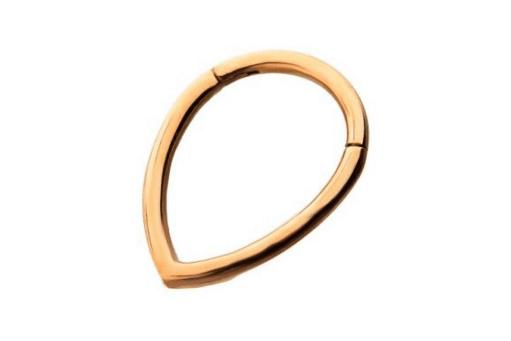 Clicker Ring - Tear Rose Gold